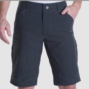 Kuhl Renegade Men's Charcoal Grey Shorts Sz 32